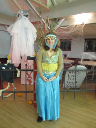 Classiest Costume Winner:  Belly Dancer (Stephanie Piecuch)