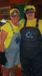 Winners-Minions from Dispicable Me- Amanda & Theresa!!
