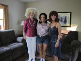 Mrs. Howell, MaryAnne & Ginger from Gilligan's Island