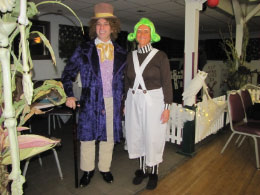 (Winners)  Most Original -Willie Wonka & Umpa Lumpa