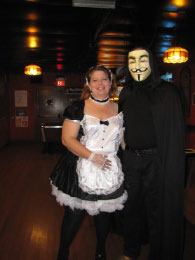 (Winner) Sexy Maid & her hubby- Mr. Anonymous!