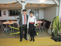 Mr. Mark (Chimney Sweep) &  Sharon (Mary Poppins) - Wnners