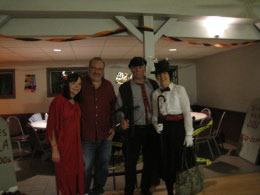 Devil Dee, Bob, Chimney Sweep (Mark) & Mary Poppins (Sharon)