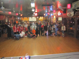 Most of the group- Those that dressed up!!