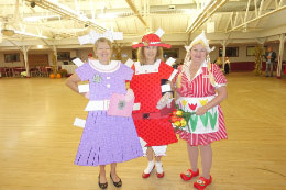 Paper Dolls (Winners-Most Original) Carol & Joann  - Dutch Girl (Winner-Cutest) Pam