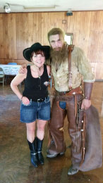Western Theme Dance at  Hidden Lakes Family Campgrounds