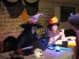 Our witchy DJ - Carol