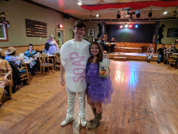 Soap & Luffa Sponge - Winner- Thomas & Raquel