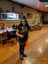 Scarry Witch Doctor-  awesome!  Winner- Barb