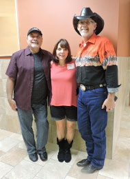 Frank Trace, Dee & Donnie Allen